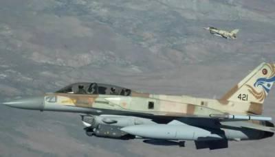 وسطی شام میں فوجی اڈے پر اسرائیلی طیاروں کی بمباری