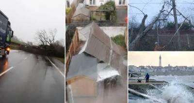 برطانیہ:سمندری طوفان برینڈن کی تباہی،آئرلینڈ اور اسکاٹ لینڈ بھی متاثر