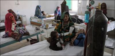 تھرپارکر: غذائی قلت اور وبائی امراض کے باعث مزید 2بچے جاں بحق