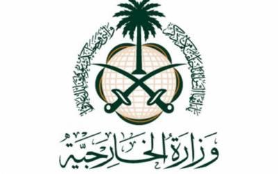 سعودی عرب کی نیجر میں فوجی کیمپ پر دہشت گردانہ حملے کی مذمت