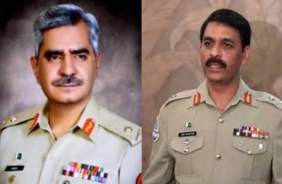 تبادلہ کے بعدآصف غفور کا نئے ڈی جی آئی ایس پی آر کے لیے نیک تمناؤں کا اظہار
