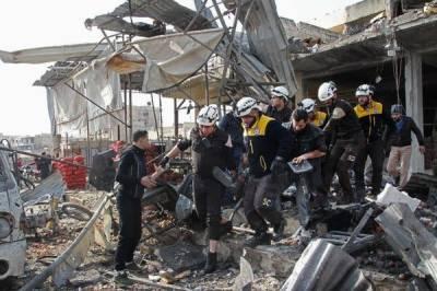شام: حکومت کے فضائی حملے میں درجنوں جنگجو اور شہری ہلاک