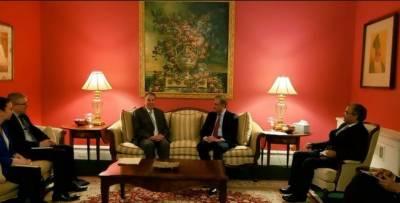 پاکستان،امریکہ اور ایران کشیدگی کے پُرامن حل کیلئے کردارادا کرنے کو تیارہے:شاہ محمودقریشی