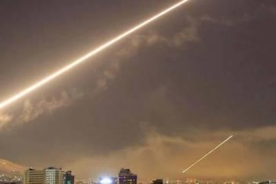اسرائیلی طیاروں کے دمشق کے نزدیک ٹی فور کے اڈے پر میزائل حملے