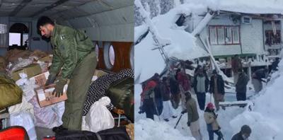 وادی نیلم میں برفانی تودے گرنے سے متاثرہ علاقوں میں امدادی سرگرمیاں جاری
