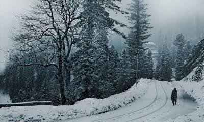 پہاڑوں پر برفباری کا امکان
