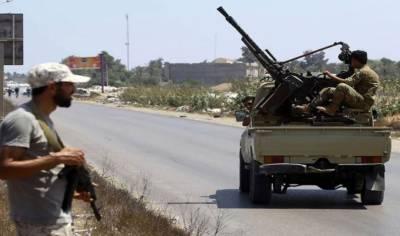 طرابلس میں مسلح تصادم کےباعث ڈیڑھ لاکھ سے زائد افراد بےگھر