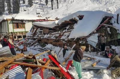 مظفرآباد: برفانی تودے سے جاں بحق افراد کی تعداد 79 ہوگئی