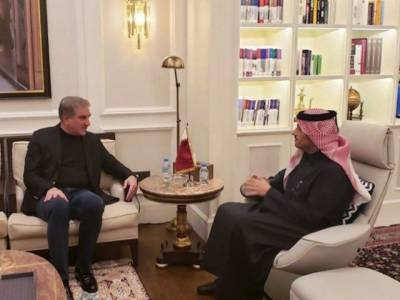 دوحہ: شاہ محمود قریشی کی قطر ی ڈپٹی وزیراعظم و وزیر خارجہ سے ملاقات,دوطرفہ تعلقات اور خطے میں امن وامان کی صورتحال پر تبادلہ خیال