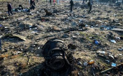 ایران کا تباہ شدہ مسافر طیارے کے بلیک باکسز یوکرین بھیجنے کا اعلان