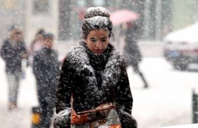 چین: صوبے شانسی میں خون جما دینے والی سردی کا راج