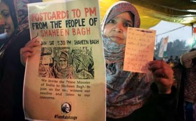 بھارت:مظاہرین کا مودی کوخطوط ارسال کرنے کےلئے پوسٹ کارڈ مہم کا آغاز