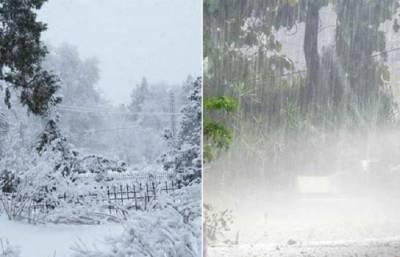 بلوچستان : پارہ نقطہ انجماد سے گرگیا, مزید برفباری و بارش کی پیش گوئی