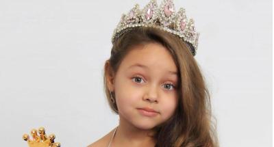 مصری نژاد بچی روس میں بچیوں کی ملکہ حسن بن گئی