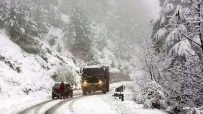 بلوچستان، آزاد کشمیر میں برفباری کا نیا سلسلہ شروع