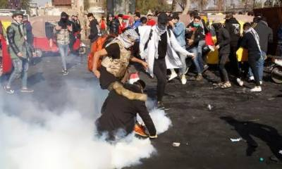 عراق:24 گھنٹوں کے دوران 10 مظاہرین ہلاک