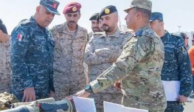 سعودی عرب اور مصر کی مشترکہ بحری مشق