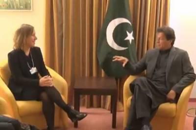 وزیر اعظم عمران خان سے یوٹیوب کے چیف ایگزیکٹو آفیسر سوسن ووجکی کی ملاقات