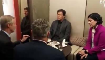 وزیراعظم عمران خان سے گلوبل سسٹم برائے موبائل کمیونیکیشن کے ڈی جی کی ملاقات