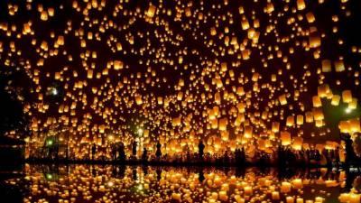 چین : نئے قمری سال کی مناسبت سے سالانہ لالٹین فیسٹول کا آغاز