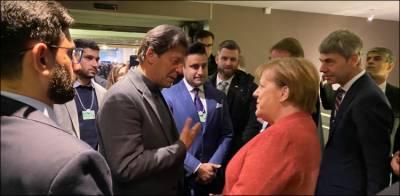 جرمن چانسلر اینگلا مرکل کی وزیراعظم عمران خان کو دورہ جرمنی کی دعوت