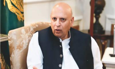 وزیراعظم اور وزرا لیول پر کرپشن میں کمی آئی ،پاکستان میں نچلی سطح پر کرپشن موجود ہے:گورنر پنجاب