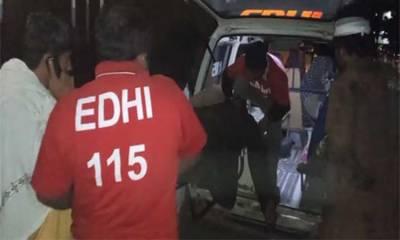 بلوچستان: حب کے قریب ٹریفک حادثہ: 3 افراد جاں بحق، 10 زخمی