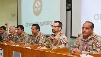 سعودی عرب اور فرانس کے اشتراک سے جاری فوجی مشقیں اختتام پذیر