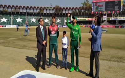 پہلاٹی ٹوئنٹی: بنگلہ دیش کا ٹاس جیت کر بیٹنگ کا فیصلہ