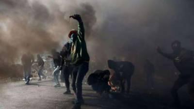 اسرائیلی فوجیوں کے ساتھ جھڑپ میں 20 فلسطینی زخمی