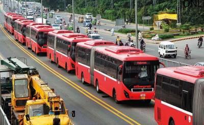 پاکستان بمقابلہ بنگلہ دیش:میٹرو بس سروس آج بھی بند