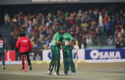 پاک, بنگلہ دیش دوسرا ٹی20:پاکستان جیت کے قریب