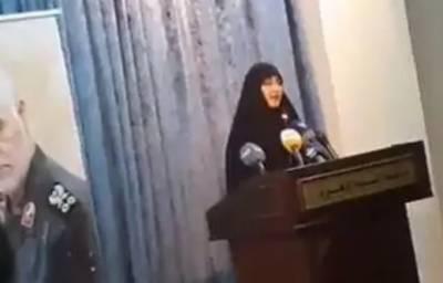 سلیمانی کی صاحب زادی بیروت میں حزب اللہ کی مہمان