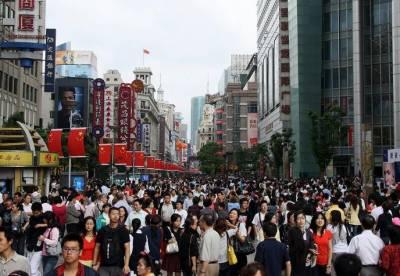 چین کی آبادی ایک ارب 40 کروڑ پچاس50 ہزار ہوگئی