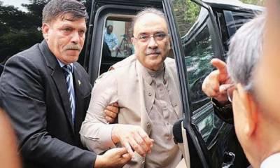 ٹھٹھہ واٹر سپلائی ریفرنس : آصف زرداری کو عدالت میں پیش ہونے کا حکم