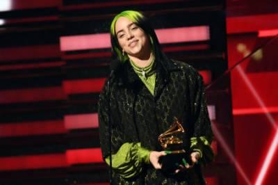 امریکی گلوکارہ بلی ایلش نے گریمی ایوارڈز کا میلہ لوٹ لیا