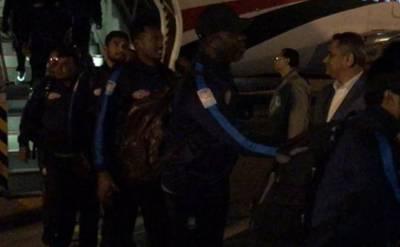 بنگلہ دیش کرکٹ ٹیم ٹی 20سیریز کے بعد وطن واپس روانہ