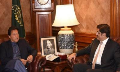 آئی جی سندھ معاملہ: وزیراعظم عمران خان اور وزیراعلیٰ سندھ میں ٹیلیفونک رابطہ