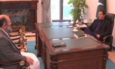 وزیراعظم سے صوبہ بلوچستان کے وزیراعلیٰ کی ملاقات، ترقیاتی منصوبوں اور صوبے سے متعلق امور پر تبادلہ خیال