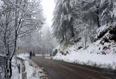ملک کے مختلف شہروں میں بارش اور برفباری کا سلسلہ پھر شروع