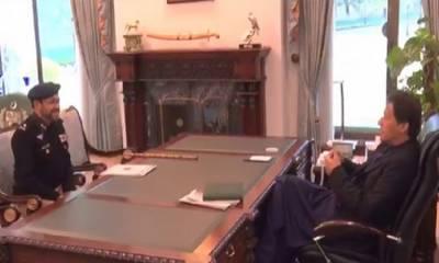 آئی جی سندھ کی وزیراعظم سے اہم ملاقات، امن وامان کی صورتحال پر تبادلہ خیال