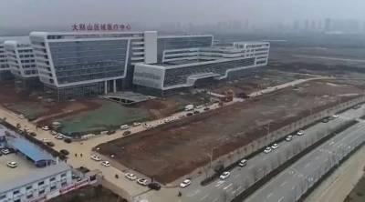چین میں صرف 2 دن میں ایک ہزار بستروں والا جدید ترین ہسپتال کھول دیا گیا