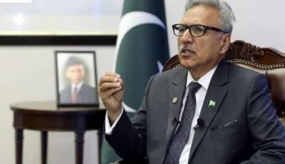 پاکستان میں بسنے والی مختلف قومیتیں خوبصورت گلدستہ ہیں:صدر عارف علوی