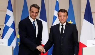 فرانس کابحرِمتوسط میں ترکی کے مقابلے میں جنگی بحری جہاز بھیجنے کا اعلان