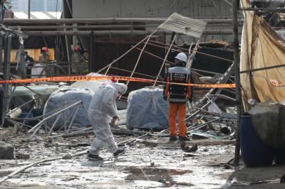 جنوبی کوریا چمڑے کی فیکٹری میں آتشزدگی ، 2 افراد ہلاک ،8 زخمی
