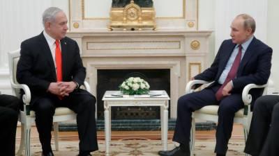 اسرائیلی وزیراعظم کا ہنگامی دورہ روس صدر پوٹن سے ملاقات