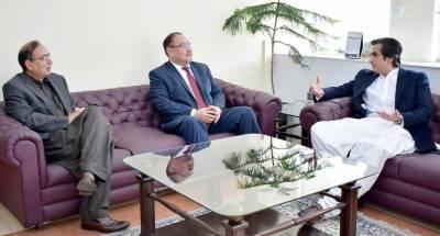 پاکستان اور قزاخستان کے زرعی شعبے میں باہمی تعاون کے فروغ کے حوالے سے مفاہمتی یادداشت پر دستخط