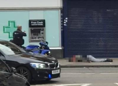 بیلجیئم ، پولیس نے 2 افراد کو چاقو گھونپنے والے شخص کو گولی مار دی