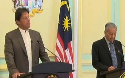 مقبوضہ کشمیر پر ملائیشیا کی حمایت کے شکر گزار،کوالالمپور کانفرنس میں شرکت نہ کرنے پر افسوس ہے:عمران خان