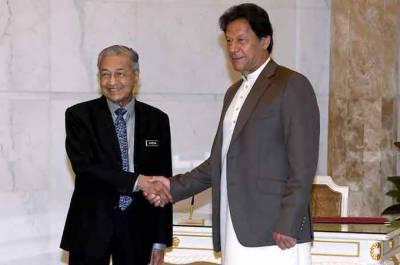 وزیراعظم عمران خان کی ملائشین ہم منصب سے ملاقات، باہمی امور پر تبادلہ خیال